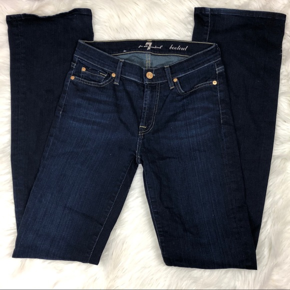 7 For All Mankind Denim - 7 For All Mankind The Squiggle Bootcut Jean
